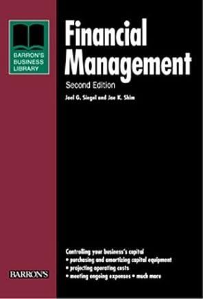 Financial Management (Barrons Business Library) by Joel G. Siegel (2000-04-01)
