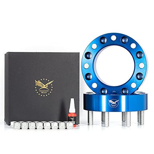PreeminentMotors 2 pcs 8X170mm Forged Wheel Spacers | 2'(50mm) | 125mm hub |...