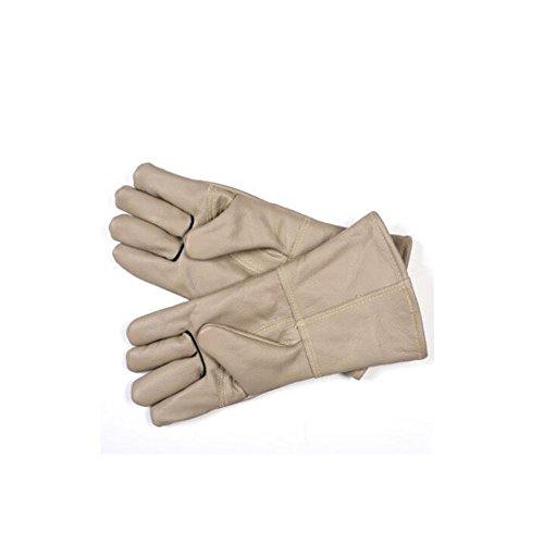 Preisvergleich Produktbild ZHANGXLMM Kuhfell Hundezucht Handschuhe Streukatze Eidechse Reptil Fang Schlange Beißende Anti-Ratte Tier Handschuhe, Grey
