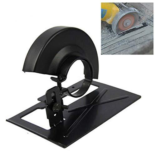 Smerigliatrice angolare di conversione strumento smerigliatrice angolare supporto + copertura di protezione regolabile 20-30 mm per la lavorazione del legno fai da te strumento