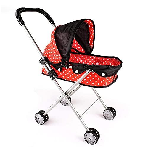 AYDQC New Baby Carriage Stroller Kindergarten Muebles Babydoll Juguetes Niños Educativos Juguetes Regalos Girls Mejorado fengong