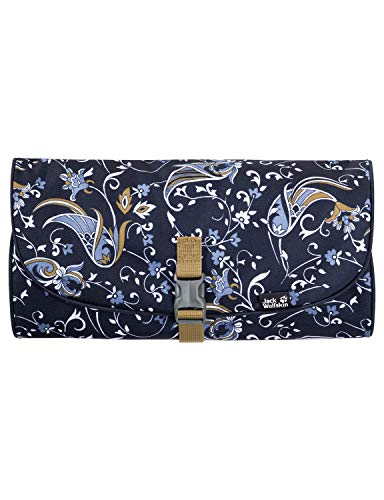 Jack Wolfskin Unisex – Erwachsene Waschsalon Kulturtasche, midnight blue all over, ONE SIZE