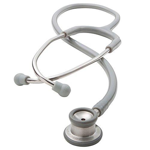 ADC - 605MRS Adscope 605, Infant Clinician Stethoscope, 30.5 inch Length, Metallic Raspberry