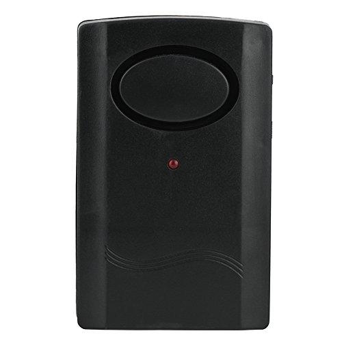Home Security Alarm, 120db IR-Fernbedienung Vibrationsalarm Home Security Tür Fenster Einbruchsicherer Detektor