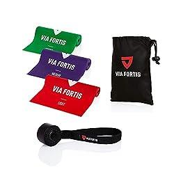 Fitnessbänder fürs Klettertraining