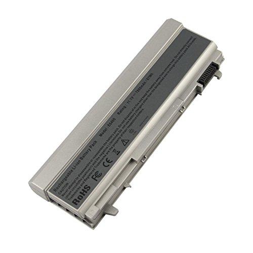 ARyee 7800mAh 11,1 V E6400 Akku Laptop Akku für Dell Latitude E6400 E6500 E6410 E6510, Dell Precision M2400 M4400 M4500