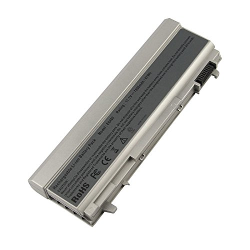 Fancy Buying Laptop Battery for Dell Latitude E6400 E6500 E6410 E6510,Precision M2400 M4400 M4500,Fits P/N:PT434 PT435 PT436 PT437 KY477 KY265 KY266 KY268 [9 Cells 11.1V 7800mAh/87Wh]