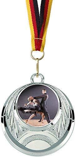 Verlag Reiner Kullack 10er-Set Medaillen »Tanzen«, mit 25 mm Sportfoto-Emblem (Folie, bunt)
