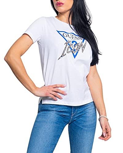 Guess W1RI25I3Z00 T Shirt Bianca TG L