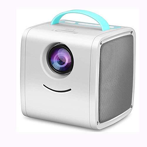Sweet Mini Beamer,Projector Hd,LCD-Projektor UnterstüTzt Hd 1920x1080 Kompatibeles Pc-Tv DVD USB Sd Av Hdmi Heimkino Und VerstäRker Kompatibel