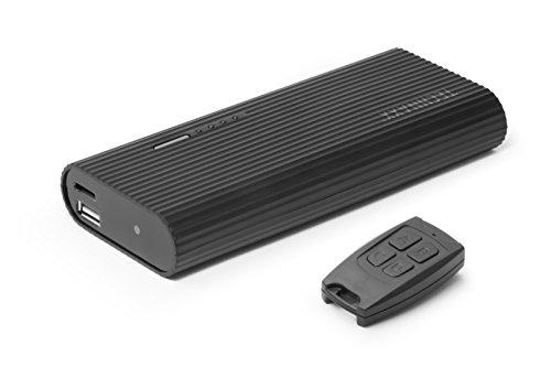 Technaxx Power Bank 6000mAh mit Full HD-Kamera TX-92, Powerbank mit Überwachungs- und Spionkamera