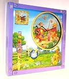 Winnie The Pooh Wall Clock,Alarm Clock & Watch Gift Set