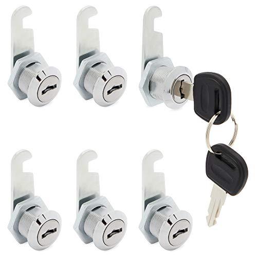 Stockroom Plus Cabinet Cam Locks with Keys