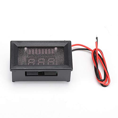 Best Prices! Aufee Professional Battery Voltmeter, Electric Lithium Battery Voltmeter, for 12V-72V B...