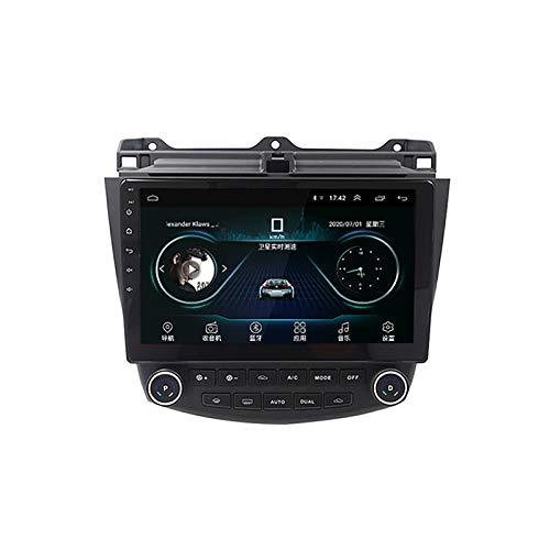 DSAK Coche Multimedia Radio Player Android 9.0 Coche GPS La Navegación Es Adecuada para Honda Accord 7Th Generation 2003-2007 (2G+32G)