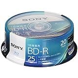 ソニー ビデオ用ブルーレイディスク 20BNR1VJPP4(BD-R 1層:4倍速 20枚パック)