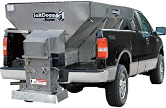 Salt Dogg Electric Stainless Steel Hopper Spreader - 2.0 Cu. Yard Capacity, Stainless Steel Hopper, Model Number 1400601SS