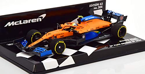 ミニチャンプス 1/43 マクラーレン ルノー MCL35 ランド ノリス オーストラリア F1 GP 2020