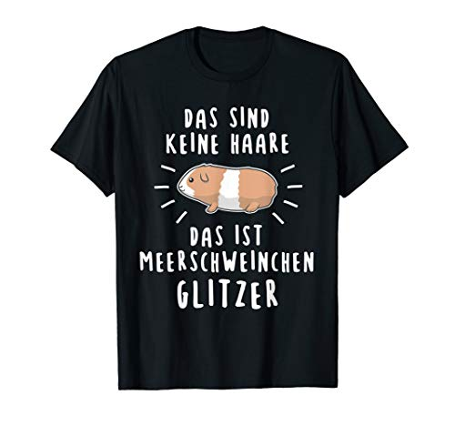 Meerschweinchen Motiv süßer Spruch für Mama und Kinder T-Shirt