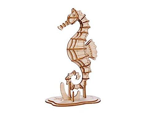 Kikkerland GG110 Seepferd 3D Holzpuzzel