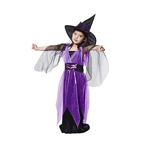 YWLINK Disfraz De MurciéLago para NiñAs De Halloween,Disfraz De Halloween para NiñOs,Disfraz De Anime,Disfraz De Bruja,Disfraz De Cosplay