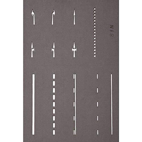 Noch Straßenmarkierungs-Schablonen
