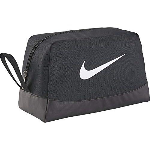 Nike Club Team Swoosh Toiletry Bag Beauty Case, 27 cm, Nero (White)
