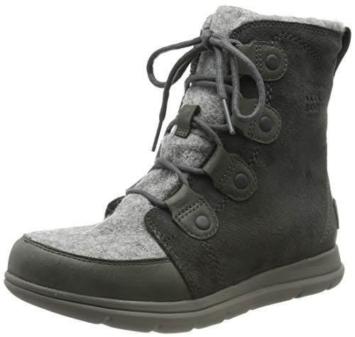 Sorel - Women's Explorer Joan Waterproof Insulated Winter Boot (8, Felt-Coal)