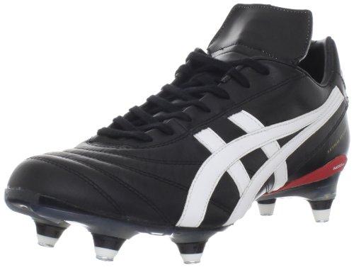 ASICS Men's Lethal Testimonial St Soccer Shoe,Black/White,9.5 M US