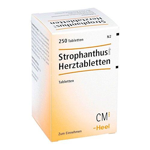 Strophantus comp. Herztabletten Heel, 250 St. Tabletten