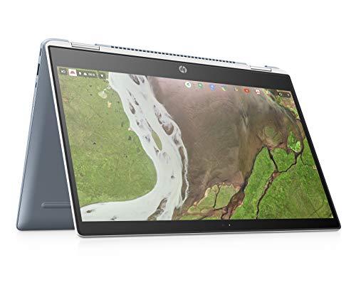 HP Chromebook x360 14-da0001na 14 Inch Full HD Convertible Laptop - (Ceramic White) (Intel Pentium, 4 GB RAM, 32 GB eMMC, Chrome OS)