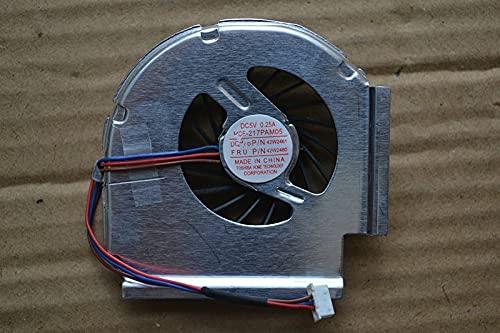 Ellenbogenorthese-LQ ¡100% Nuevo!CPU Ventilador de refrigeración para Ordenador portátil 3 Pines para IBM Lenovo Thinkpad T61 T61P R61 W500 T500 T400 PN MCF-217PAM05