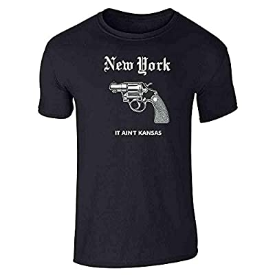 New York City NYC Brooklyn Love Retro Big Apple Graphic Tee T-Shirt for Men