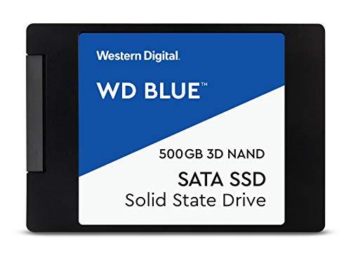 WD Blue 3D NAND SATA SSD Unità allo Stato Solido Interna 2.5', 500 GB