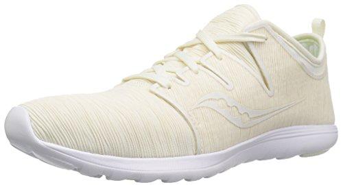 Saucony Women's EROS LACE Sneaker, Off White, 5 M US