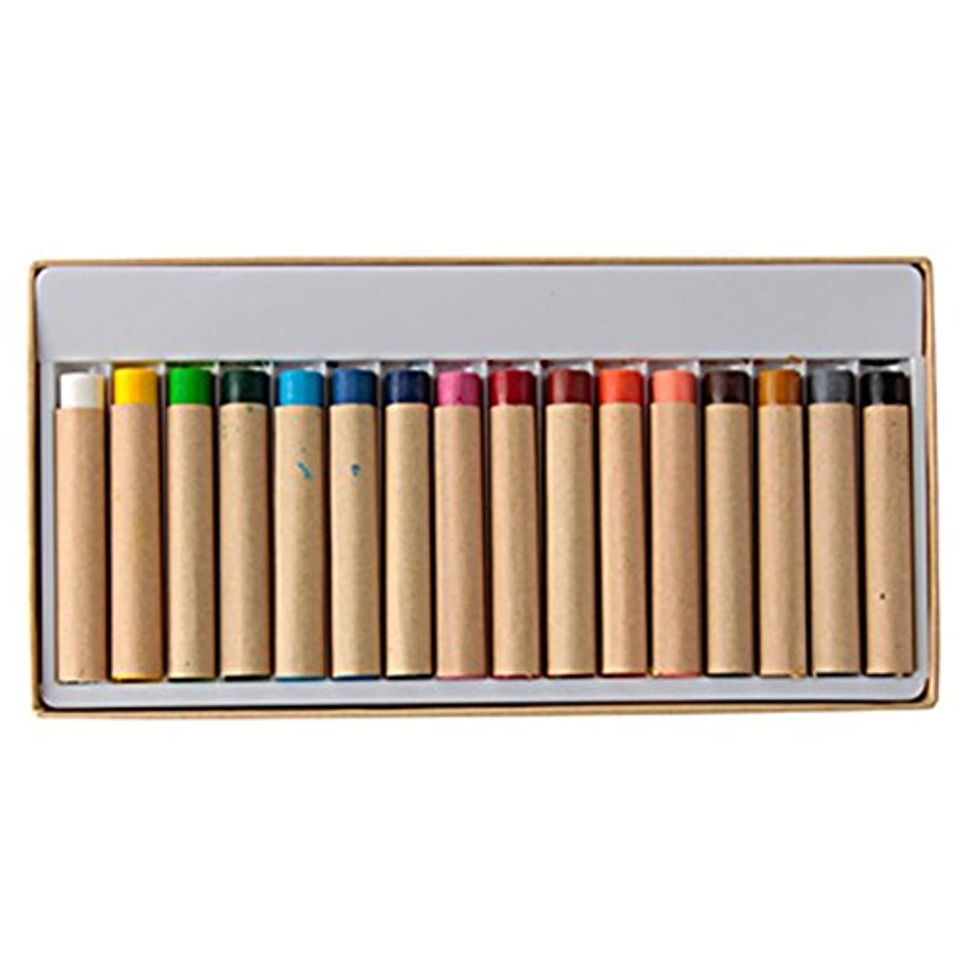 Muji Painted fabric crayons / 16 colors