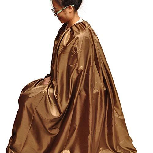 HLONGG Sauna Steam Cloak Waterproof Steam Gown Spa Fumigation Bath Robe Sauna Sweating Tool Spa Tent Body Therapy Steam Generator,XL
