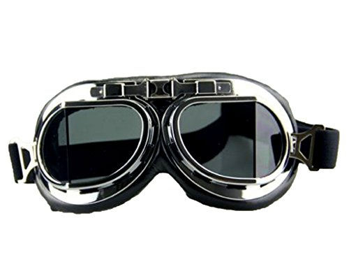 DODOING Vintage Motorcycle Cruiser Scooter Goggle Ski Snowboard Bike Racer MTB Bicycle Glasses
