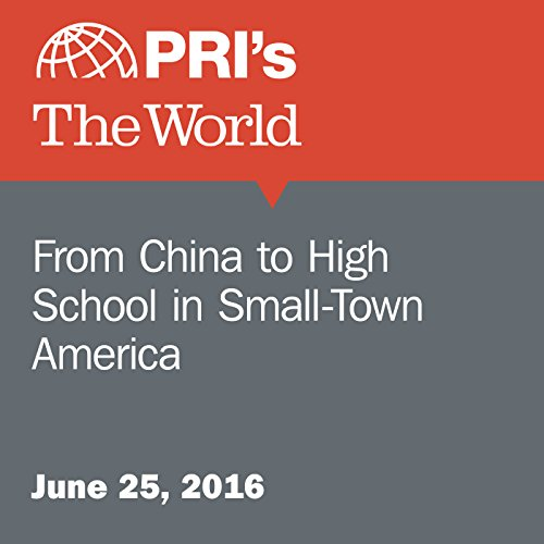 From China to High School in Small-Town America audiobook cover art