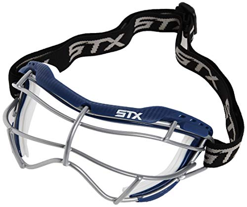 STX Lacrosse Focus-S Goggle, Royal/White