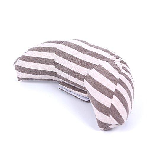 lb Trading bambini auto cinture spalla cuscino di adulti e bambini testa cuscino di sostegno per sedili auto o booster veicolo Brown