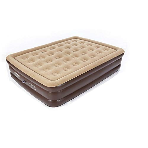 Comfortable Inflatable Mattress Luxury Ergonomics Double Air Bed for Outdoor Camping, Hiking, Parties Or Home Guest Staying Over USA Stock