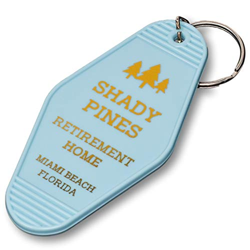 Shady Pines Retirement Home Key Chain