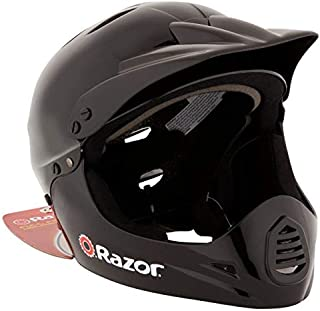Razor 97775 Kid`s Youth Full Face Padded Head Helmet for BMX Bike, Mountain Bicycle, Electric Scooter, Motorcycle, and Mor...