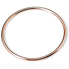 "Solid Stainless Steel, Never Rust, Nickel Free, Hypoallregenic Various Sizes. Listed ""Item Display Length"" is the Circumference of Bracelet Perfect Gift for Friends, Classmates, Workmates, Wife, Daughter, Girfriend Cocktail Party Wedding Birthday Bab..."