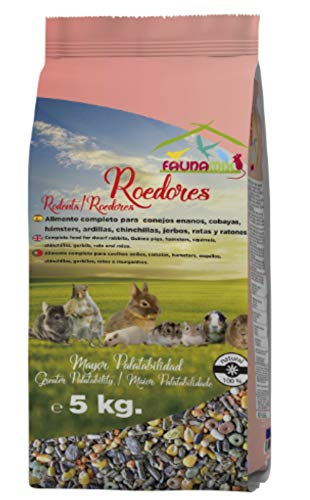 Alimento Roedores Mix 5 Kg.