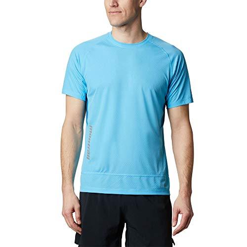 Columbia Titan Ultra II T-Shirt à Manches Courtes pour Homme M Bleu Ciel