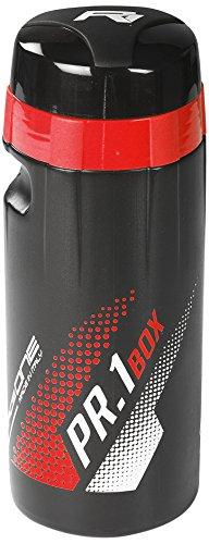 RaceOne  PR1-BOX, Bidón de ciclismo, 600 ml, Rojo