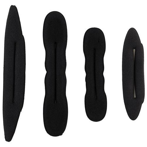 4/Kit de cheveux Tail Twister Twisten Titulaire éponge bande