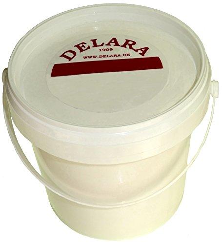 DELARA Balsamo per Pelle con Cera d'api, Colore: incolore, 500 ml – Prodotto in Germania